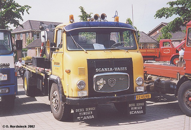 Scania-Vabis LB 76 Super Lkw-Abschleppwagen