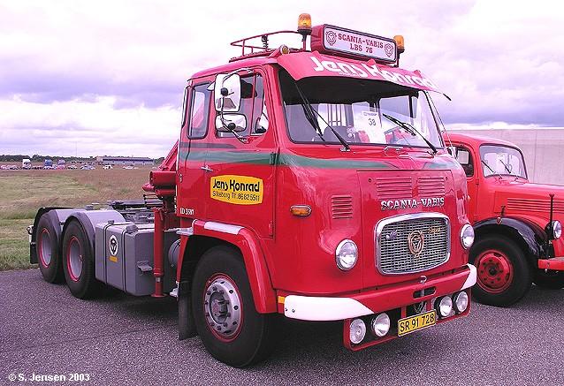 Scania-Vabis LBS 76 Super Sattelschlepper b