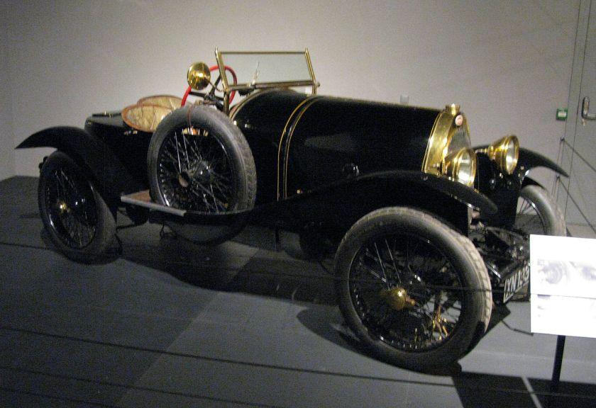 1913 Bugatti Type 18 Black Bess