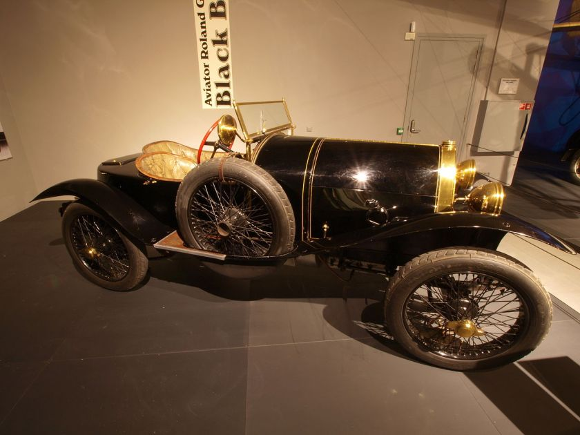 1913 Bugatti Type 18 Sports Two seater Black Bess p2