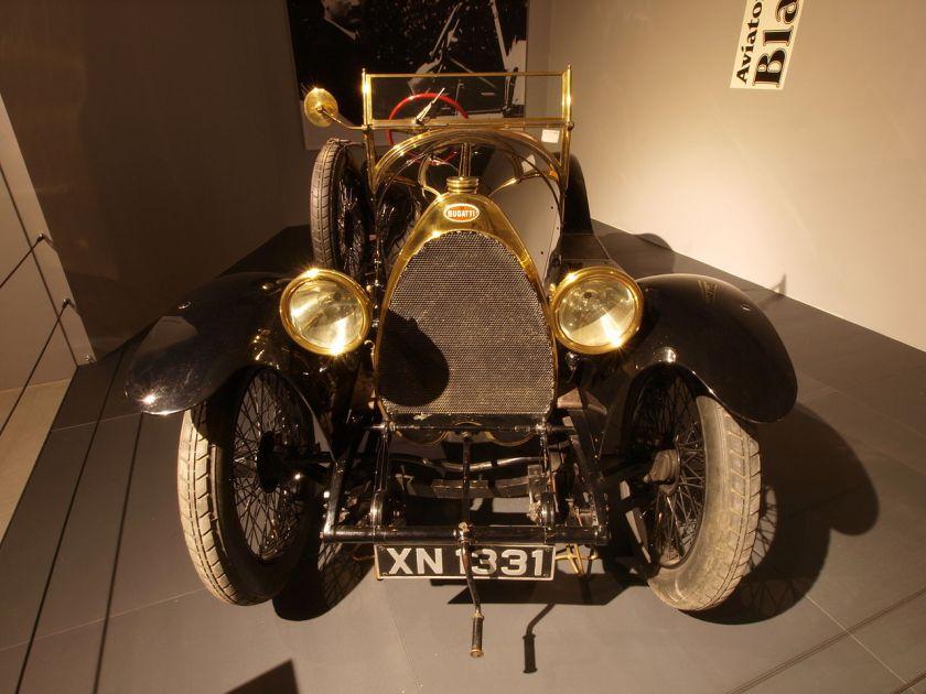 1913 Bugatti Type 18 SportsTwo seater Black Bess p1