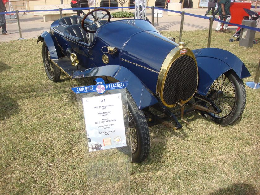 1913 Bugatti type 22 carrosserie Vinet