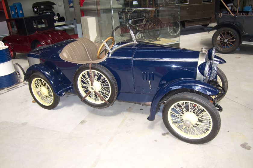 1921 Bugatti Type 23 Brescia two-Seater Boattail