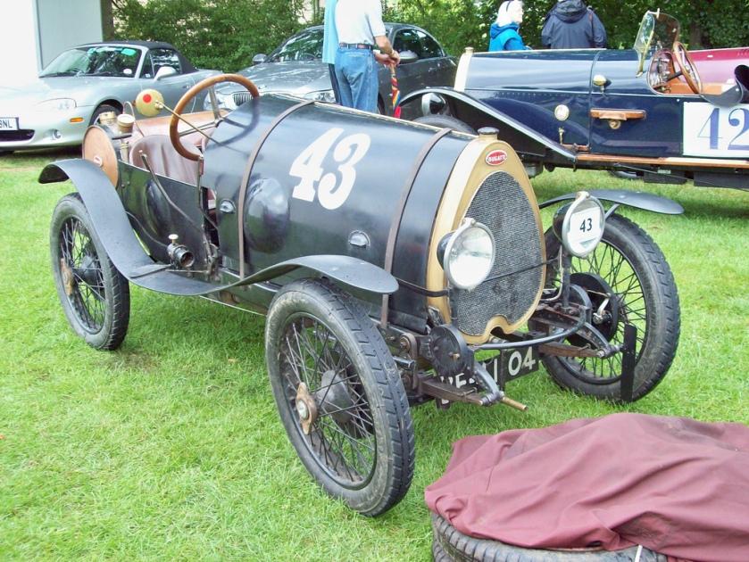 1923 Bugatti T13 Brescia Engine 1486cc