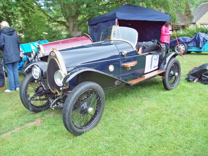 1923 Bugatti T22R Skiff Engine 1496cc 12
