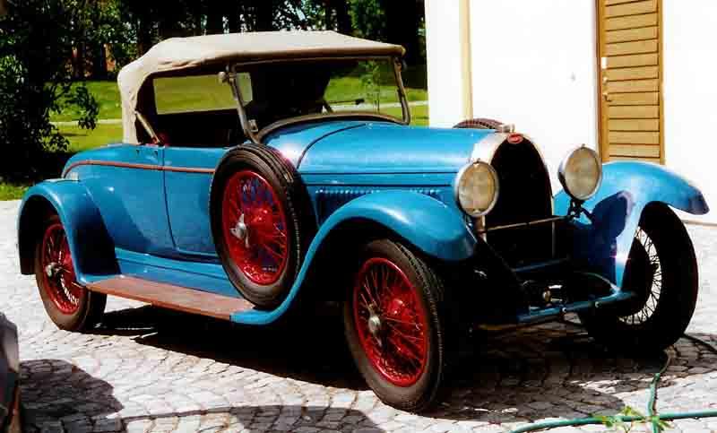 1927 Bugatti Type 44 Roadster