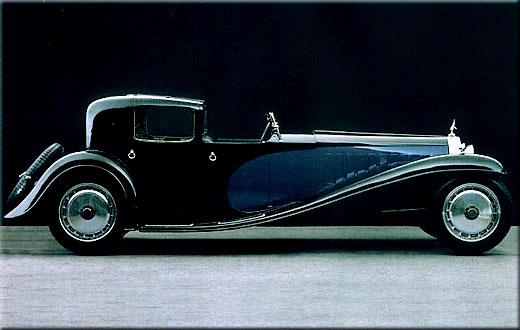 1928 Bugatti Type 41 (Royale) Coupé Napoleon. Dit was Bugatti's persoonlijke auto.