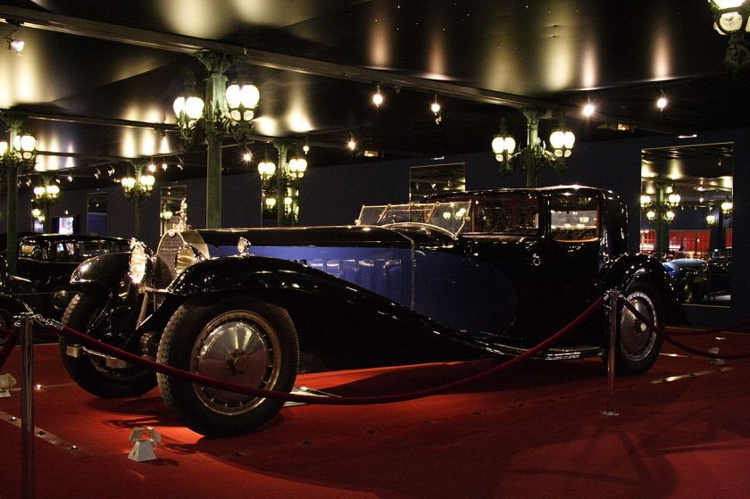 1929 Bugatti Royale Coupe Type 41 Mulhouse Fra