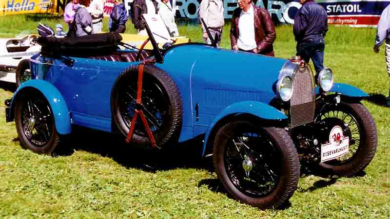 1929 Bugatti Type 40 Grand Sport Tourer
