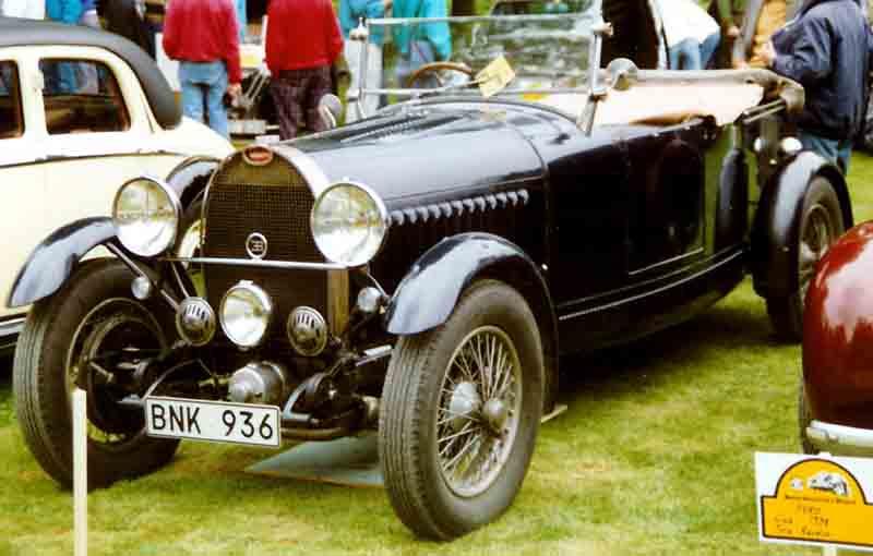 1929 Bugatti Type 49 Tourer