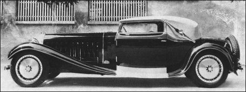 1931 Bugatti 41121 Royale kabriolet Weinberger