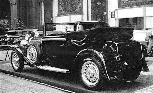 1931 Bugatti 49 W