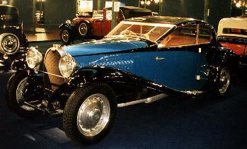 1933 Bugatti 46 coach Profilee