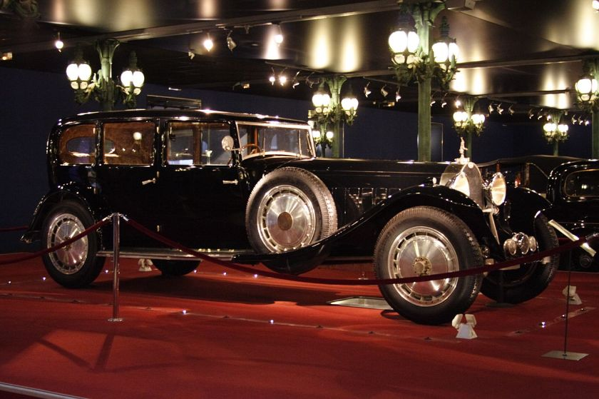 1933 Bugatti Limousine Type 41 Mulhouse FRAChassis no.41.131, known as the Limousine Park-Ward, at home in the Musée National de l'Automobile de Mulhouse