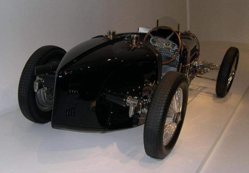 1933 Bugatti Type 59 Grand Prix 34 rear
