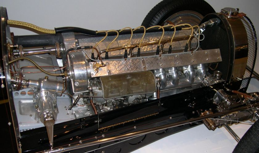 1933 Bugatti Type 59 Grand Prix From the Ralph Lauren collection engine
