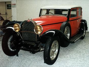 1934 Bugatti 46 limousine