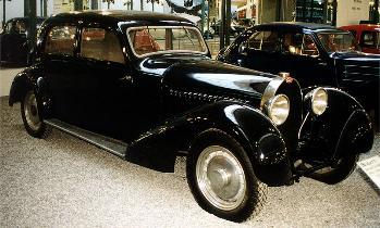 1934 Bugatti 46S limousine