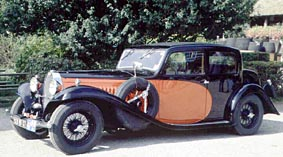 1934 Bugatti 57 Galibier