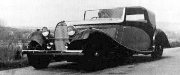 1934 Bugatti 57 Sedanca