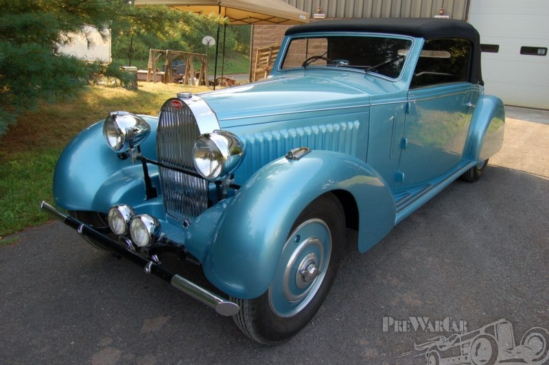 1934 Bugatti 57 Stelvio Gangloff
