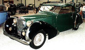1935 Bugatti 57C coach