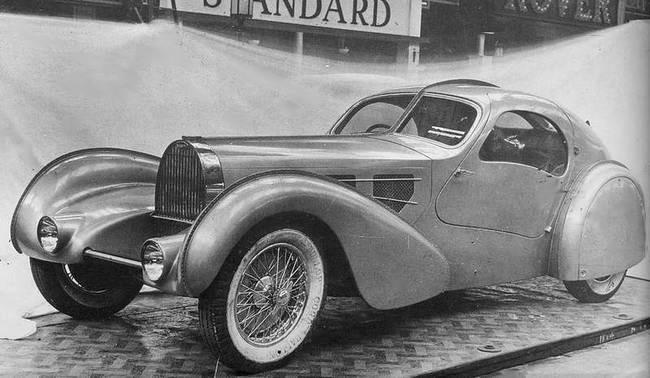 1935 Bugatti Type 57 Aérolithe