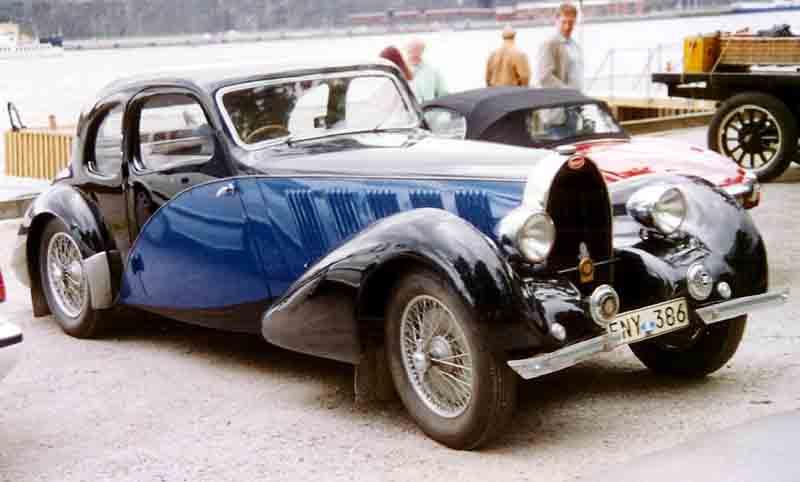 1936 Bugatti Type 57 Coupe