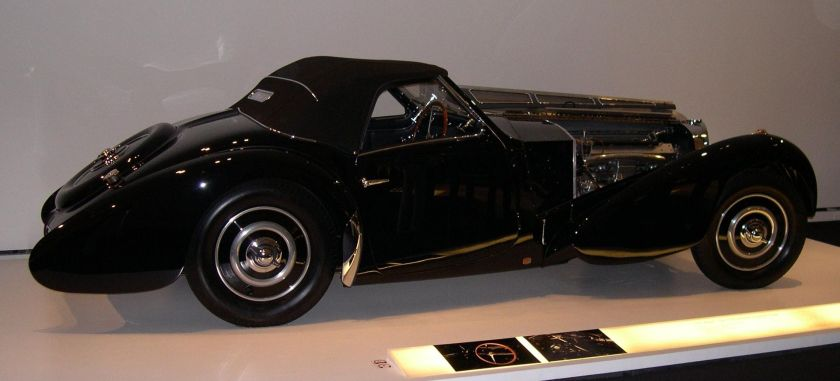 1937 Bugatti Type 57SC Gangloff Drop Head Coupe from the Ralph Lauren collection.