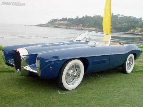 1965 Exner Bugatti T101C