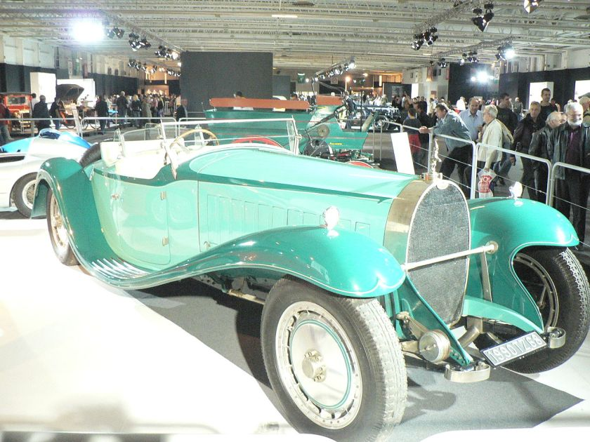 2006 The brothers Schlumpf replica of the Royale Esders Coupe on display at the 2006 Paris Motor Show Bugatti Type41 Royale 2
