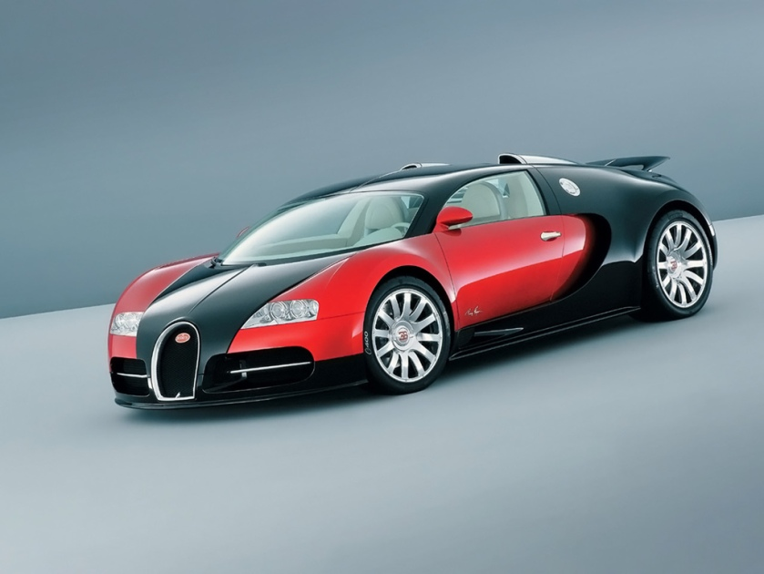 Bugatti EB 16 4 Veyron Red
