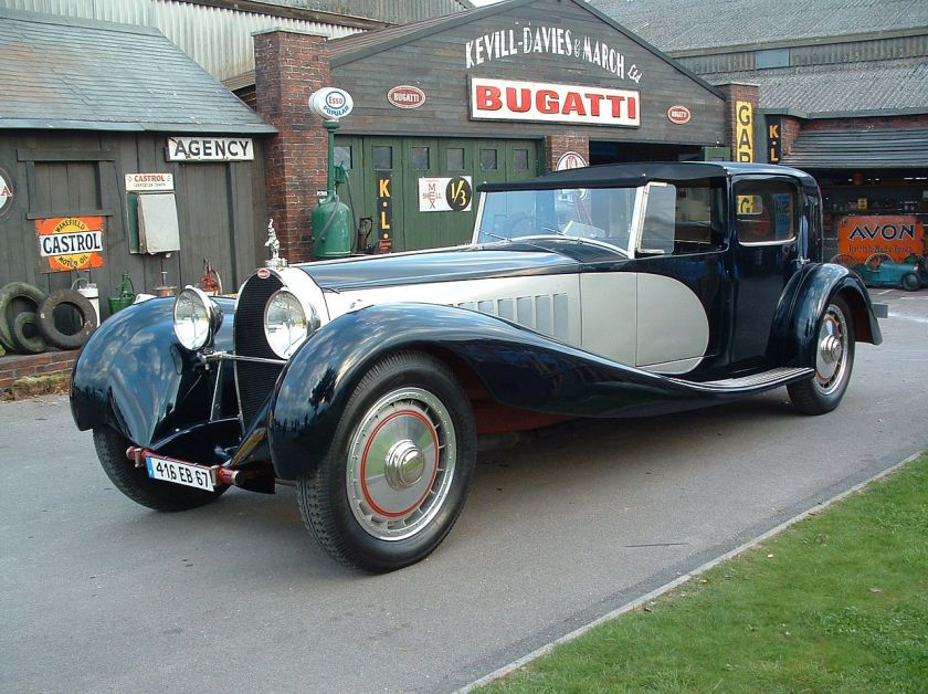 Bugatti Royale Coupe de ville Binder Revival a