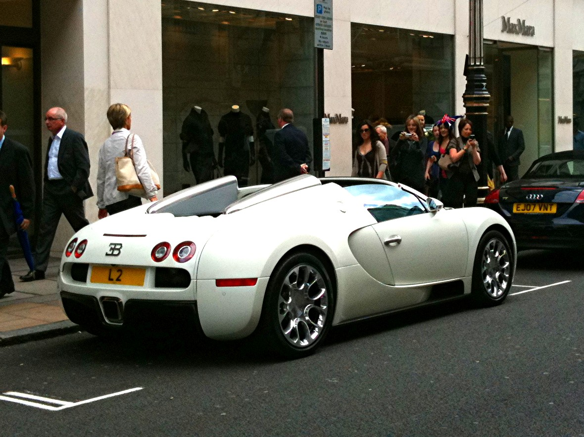 Bugatti Veyron Grand Sport In London