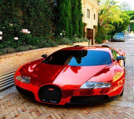 Bugatti Veyron Rood