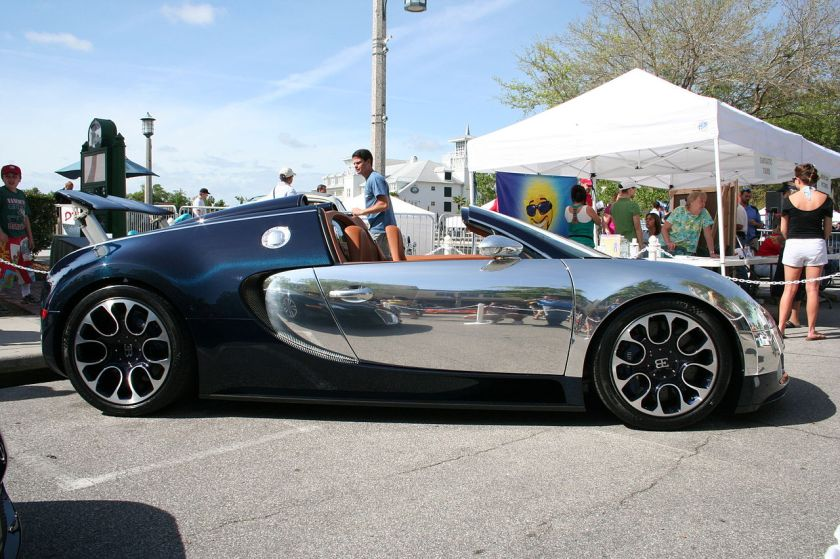 Bugatti Veyron SangBleu
