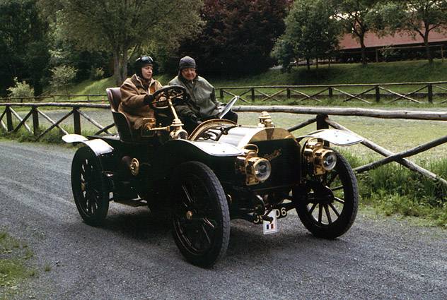1903 Berliet 20HP closed swing-seat tonneau a