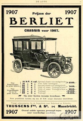 1907 Berliet thijssens