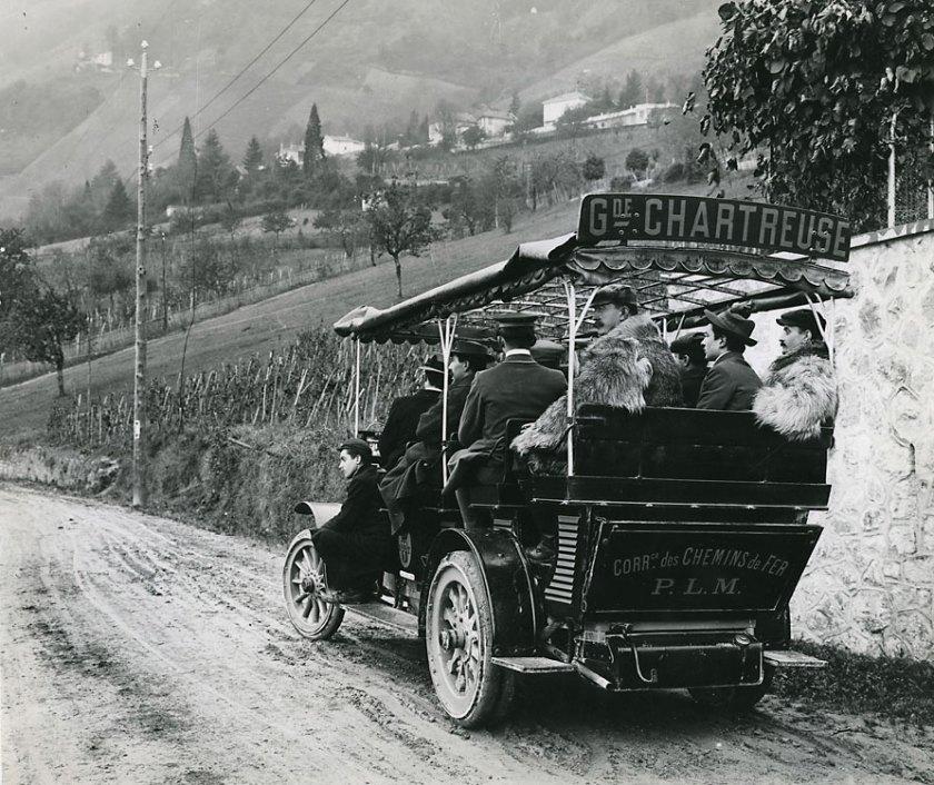 1909 Berliet car-alpin-CAA-Chartreuse