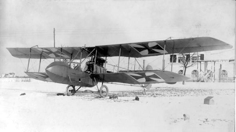 1910 Biplane_of_Gustav_Flugmachinfabrik1910