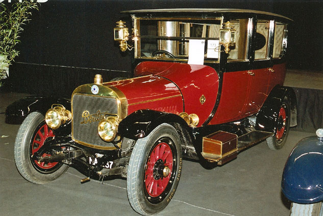 1912 BERLIET L14 22HP ENCLOSED LIMOUSINE