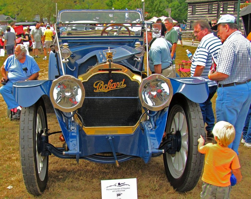 1914 Packard Dominant Six 4-48 Runabout