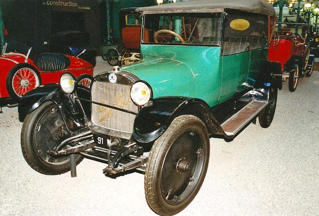 1920 BERLIET VL TORPEDO