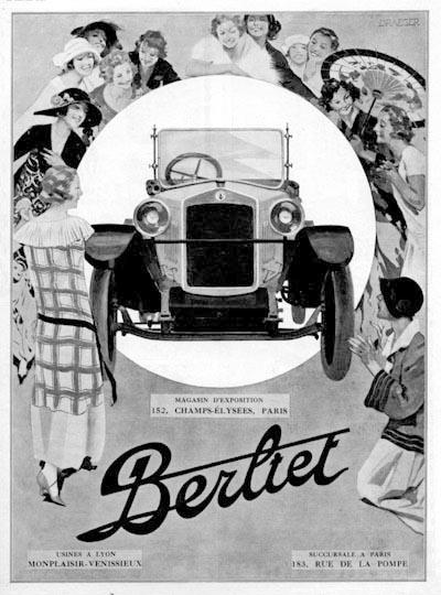 1924 Berliet ad