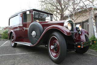1925 packard Hearse