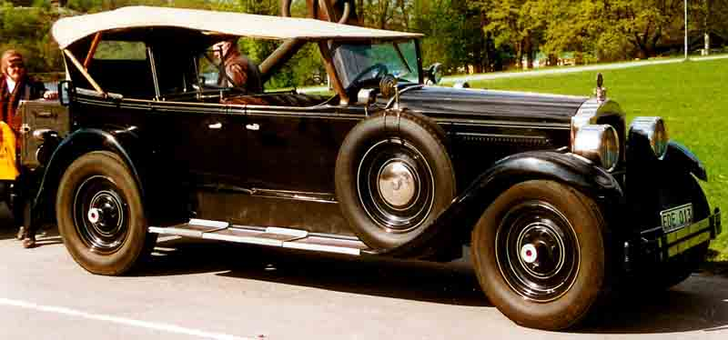 1926 Packard Eight Modell 243 7-pass. Touring