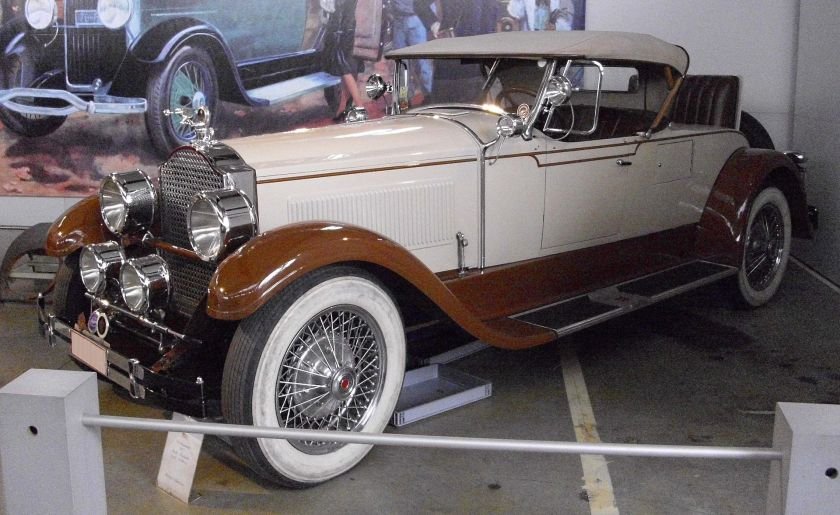 1927 Packard 343 Dual Windshield Phaeton