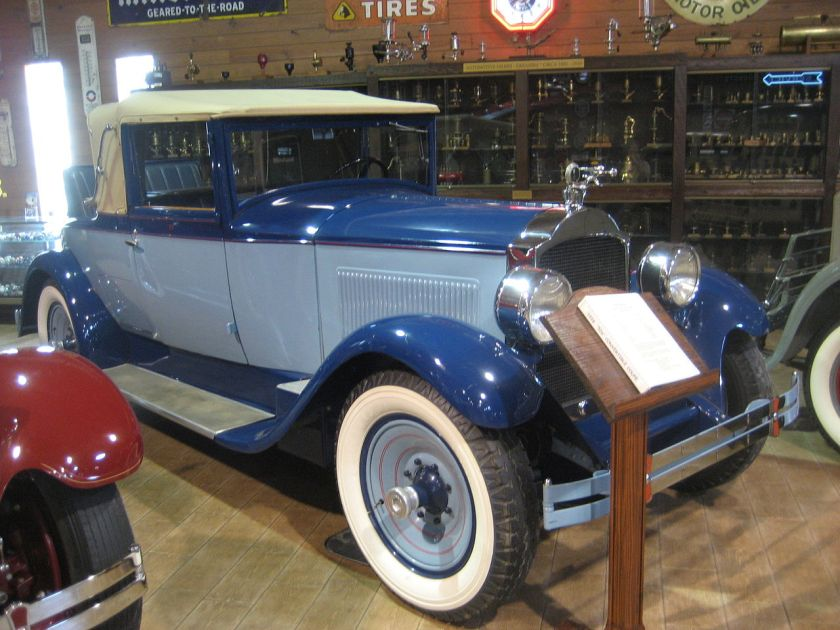 1928 Packard 526 Convertable Coupe