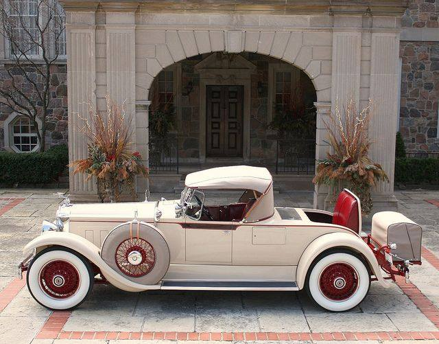 1929 Packard 640 Custom 8 Roadster