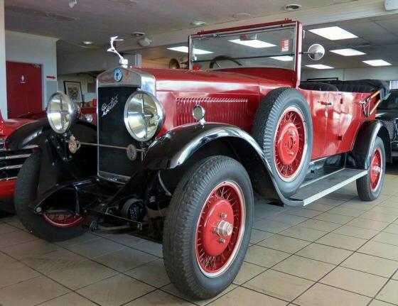 1930 Berliet 4 Seater Cabriolet